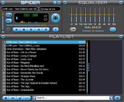 Spider Player Screenshot