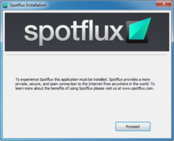 Spotflux Screenshot