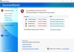 SpywareBlaster Screenshot