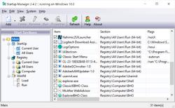 StartUp Manager Free Screenshot
