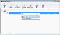 StarWind Virtual CD Screenshot