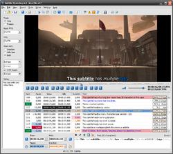 Subtitle Workshop Screenshot