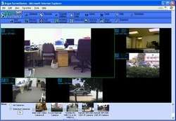 Surveillance Digital Video Recorder Screenshot