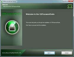 SX Password Suite Screenshot