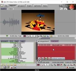 t@b ZS4 Video Editor for win32 Screenshot