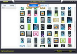 Tansee iPod Photo Transfer Screenshot