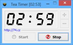 Tea Timer Screenshot