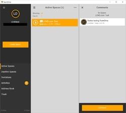 TeamDrive Screenshot
