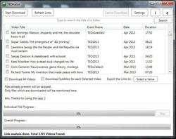 TED Talks Downloader Screenshot