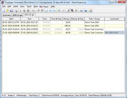 TimeSage Screenshot