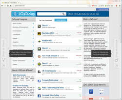 Torch Browser Screenshot