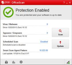 Trend Micro OfficeScan Screenshot