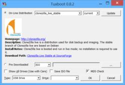 Tuxboot Screenshot