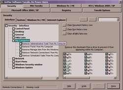 Tweaki...for Power Users Screenshot