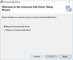 Universal ADB Driver Screenshot