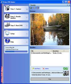 Video DVD Maker Free Screenshot