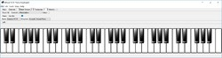 Virtual MIDI Piano Keyboard Screenshot