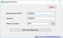 Virtual Router Plus Screenshot