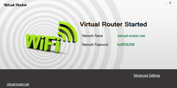 Virtual Router Screenshot