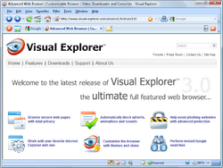 Visual Explorer Screenshot