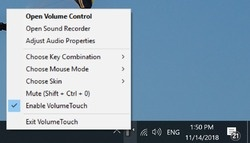 VolumeTouch Screenshot