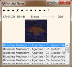 Vorbital Player Screenshot