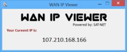 WAN IP Viewer Screenshot