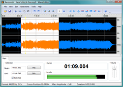 Wave Editor Screenshot