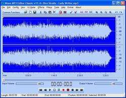 Wave MP3 Editor Classic Freemium Screenshot