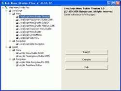 Web Menu Studio Plus Screenshot