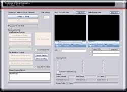 Webcam Video Capture Transmitter Screenshot