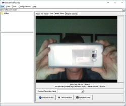 WebcamVideoDiary Screenshot