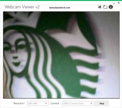 WebcamViewer Screenshot
