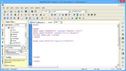 WebEdit Screenshot