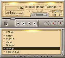 Wimpy MP3 Player Screenshot