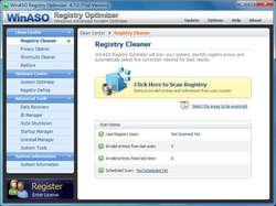 WinASO Registry Optimizer Screenshot
