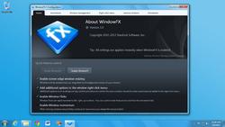WindowFX Screenshot