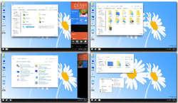 Windows 9 Skin Pack Screenshot
