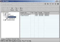 Windows Hide Master Screenshot
