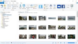 Windows Photo Gallery Screenshot