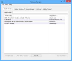 WindowTangler Screenshot