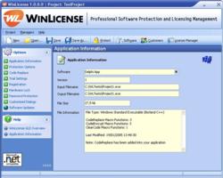 WinLicense Screenshot