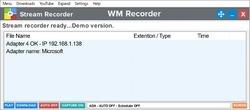 WM Recorder Screenshot