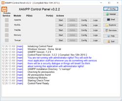 XAMPP Screenshot