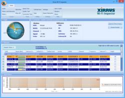 Xirrus WiFi Inspector Screenshot