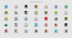 XLaunchPad Screenshot
