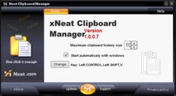 xNeat Clipboard Manager Screenshot