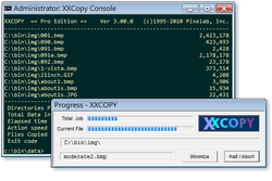 XXCOPY Screenshot