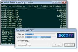 XXCOPY Screenshot