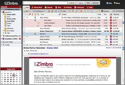 Zimbra Desktop Screenshot
